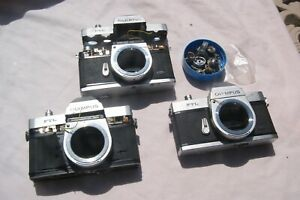 OLYMPUS FTL BODIES X3 FOR SPARES