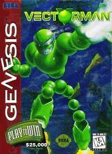 Vectorman Sega Genesis Great Condition Fast Shipping