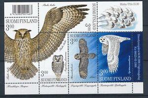 [338801] Finland 1998 birds good very fine MNH sheet