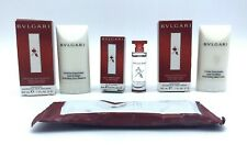 BVLGARI Au The Rouge Lot Cologne Hand Cream Face Emulsion Towel Sample Travel