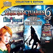 Dark Sanctuaries 6 Pack PC Games Windows 10 8 7 XP Computer hidden object seek