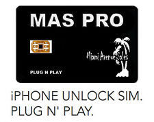 MAS PRO iPhone Unlock SIM for iPhone 7+ 7 6S 6 SE 5S 5C 5 AT&T T-Mobile Sprint