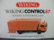 1/87 Wiking Control MAN TGL Pressmüllwagen 0774 29