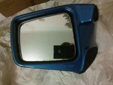 Specchietti retrovisori da moto blu per lato sinistro