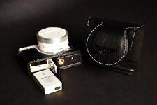 Genuine real Leather Full Camera Case bag Cover for Nikon J4 Bottom Open Black