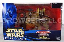 Star Wars Episode 1 Action Fleet Elektronische Fernbedienung Fambaa Galoob 99 NIP