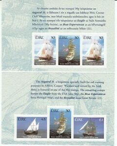 Navires Irland H - Feuille 83+84 (MNH)