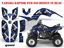Amr racing decoración Graphic kit ATV Yamaha Raptor 125/250/350/660/700 glock/Guns B