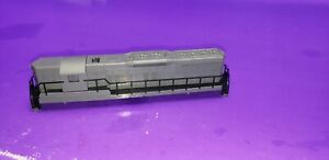 SHELL & RAILINGS ONLY ASSORTED N SCALE LOCOMOTIVE SHELL SEE PHOTOS FOR CONDITION