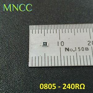 5pc/10pc 0805 240RΩ - 240 Ohm 1/8W 5% SMD Chip Resistors Fixed Resistance 2012