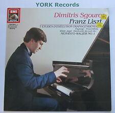 EL 27 0177 1 - LISZT - 7 Etudes DIMITRIS SGOUROS - Excellent Condition LP Record