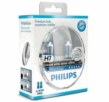 2 AMPOULES H7 PHILIPS WHITEVISION XENON EFFECT W5W VW CADDY 3 GOLF 4 5 PLUS
