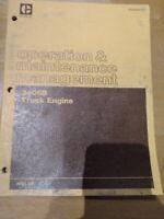 Cat Caterpillar Operation & Maintenance Manual 3406B Truck Owners Freightliner