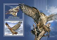 Guinea-Bissau - 2018 Birds of Prey - Stamp Souvenir Sheet - GB18604b