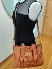 MARC BY MARC JACOBS CROSS-BODY Brown LEATHER BAG Authentic