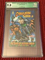 CYBERFROG 1998 Ashcan CGC Qualified Label 9.8 NM - Signed Ethan Van Sciver