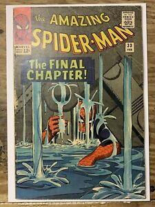 The Amazing Spider-Man #33/Silver Age Marvel Comic Book/VG-