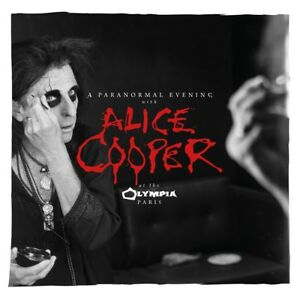 ALICE COOPER - A Paranormal Evening At The Olympia Paris, 2 Audio-CD