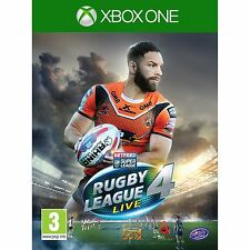 Rugby League Live 4 Microsoft Xbox One Xb1