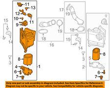PORSCHE OEM Panamera Air Cleaner Intake-Filter Box Housing Right 97011004202