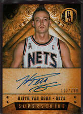Keith Van Horn 2013-14 Gold Standard Superscribe Auto /299 NJ Nets Mint