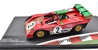 MODELLINI AUTO FERRARI RACING SCALA 1/43 312 P 312P CAR MODEL DIECAST IXO SPORT