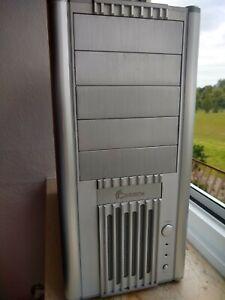 Cooler Master Full Atx Alu Style Pc Gehäuse 2x Ventilatoren kostenlos Versand
