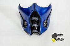 Mortal Kombat Sub-Zero Mask costume cosplay MK9 Frosty MK10 MKX with LED