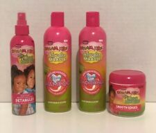 AFRICAN PRIDE DREAM KIDS SHAMPOO,CONDITIONER,DETANGLER,SMOOTH EDGES SET OF 4 NWT