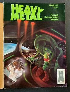 1983 MARCH VOL 6 ISSUE #12 * HEAVY METAL * FANTASY MAGAZINE FREE S&H (AA) 91921