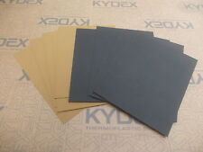 11 Pack KYDEX T SHEET 297 X 210 X 2MM A4 6 X BLACK 5 X COYOTE BROWN HAIRCELL