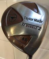 Taylormade Ti Bubble 2 Driver 9.5 - Regular Flex Grafalloy Blue Shaft- New Grip