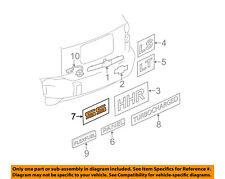 Chevrolet GM OEM 08-10 Cobalt Trunk Lid-Emblem Badge Nameplate 10336980