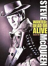 Wanted Dead Or Alive - Season 1 (DVD, 2007) Steve McQueen Brand New Sealed