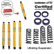 """2.5"""" 65mm Suspension Lift Kit GQ Y60 GU Y61 Patrol Coil Springs Shocks Dampener"""
