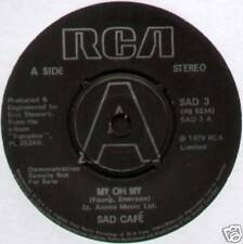 "SAD CAFE ~ MY OH MY / COTTAGE LOVE ~ 1979 UK ""DEMO"" 7"" SINGLE [Ref.1]"