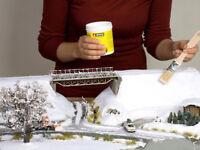 Noch H0 N Z G 1 0 Adhesivo de nieve diorama modelismo maqueta escala