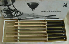 WMF GERMANY  SET OF 6 FONDUE  FORKS IN ORIGINAL BOX
