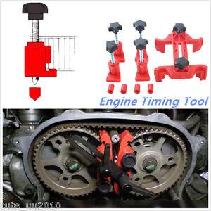 5PCS Dual Cam Camshaft Lock Holder Engine Timing Locking Tool Set Universal New