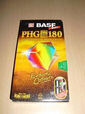 CASSETTE VHS Vierge BASF Emtec PHG 180 (neuve scellée)