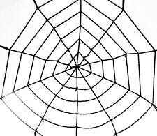 Großes Spinnennetz 150 cm Spinne Halloween Deko Horror spider Halloweendeko