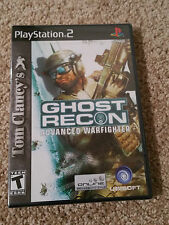 Tom Clancy's Ghost Recon Advanced Warfighter Playstation 2 PS2 Factory Sealed