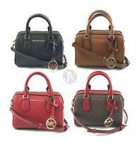 Michael Kors Giftable Bedford Leather Mini Crossbody Satchel Handbag Purse