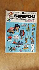 SPIROU N°1702 DU 26 NOVEMBRE 1970 / AVEC DOCUMENTATION SPIROU / B+.