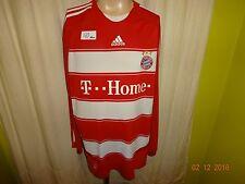 "FC Bayern München Original Adidas Langarm Trikot 2007/08 ""-T--Home--"" Gr.XXL"