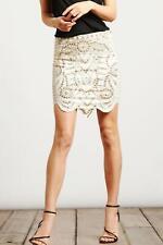 Haute Hippie Embellished Pensil Skirt  $ 495 in size  S