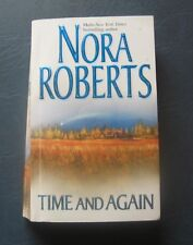 """Nora Roberts--""""Time and Again""""--2001 Paperback--Double Volume"""
