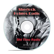Sherlock Holmes Radio Sleuth, 755 Old Time Radio Shows, Mystery Suspense DVD G79