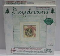 Daydreams Counted Cross Stitch Under Glass Kit Christmas Sentiments