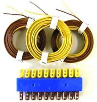 Anschluß-Verlängerungs-Set für Beleuchtungssockel 180670, Kabel + Stecker
